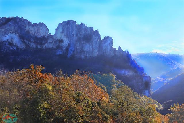 The wall - Seneca Rocks WV