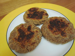 Maple Walnut Sausage Patties