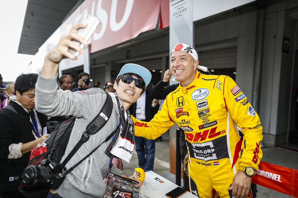 CORONEL Tom, (nld), Honda Civic TCR team Boutsen Ginion Racing, portrait during the 2018 FIA WTCR World Touring Car cup of Japan, at Suzuka from october 26 to 28 - Photo Francois Flamand / DPPI