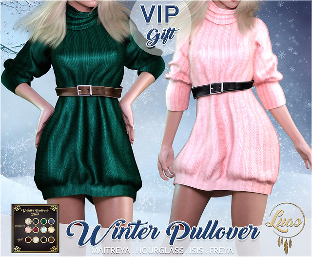 Luas Winter Pullover Fatpack VIP Gift