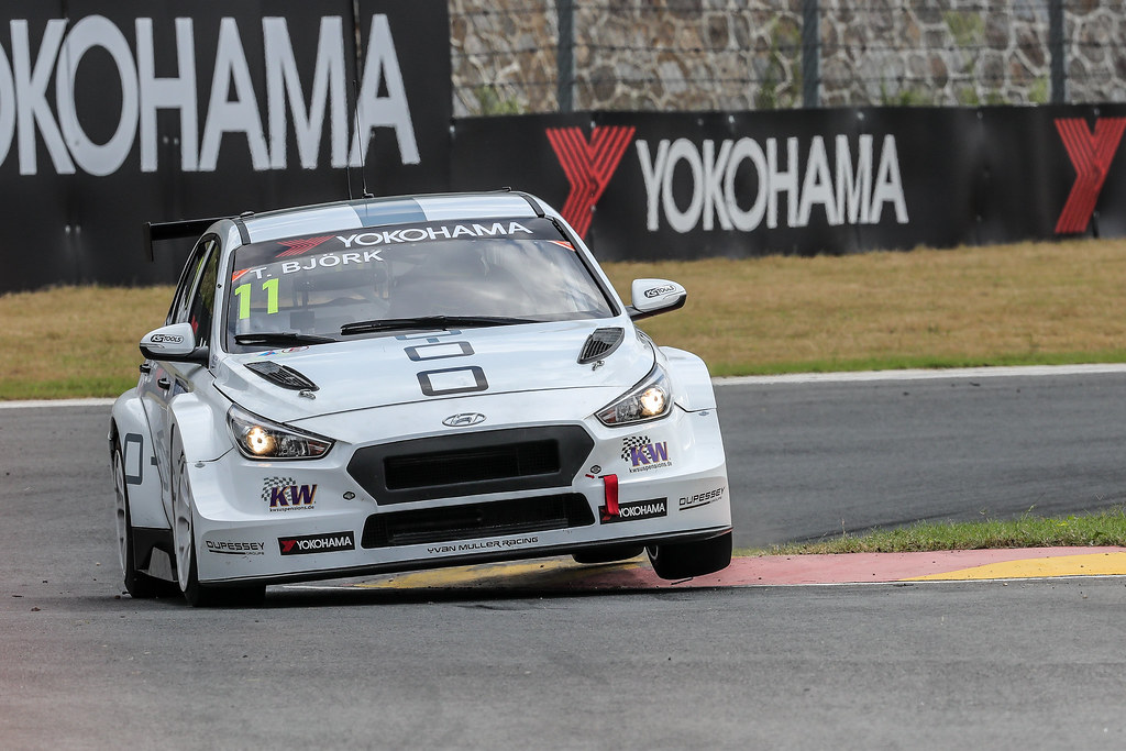 11 BJORK Thed, (swe), Hyundai i30 N TCR team Yvan Muller Racing, action during the 2018 FIA WTCR World Touring Car cup of China, at Ningbo  from September 28 to 30 - Photo Marc de Mattia / DPPI
