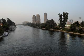 Dusk over the Nile