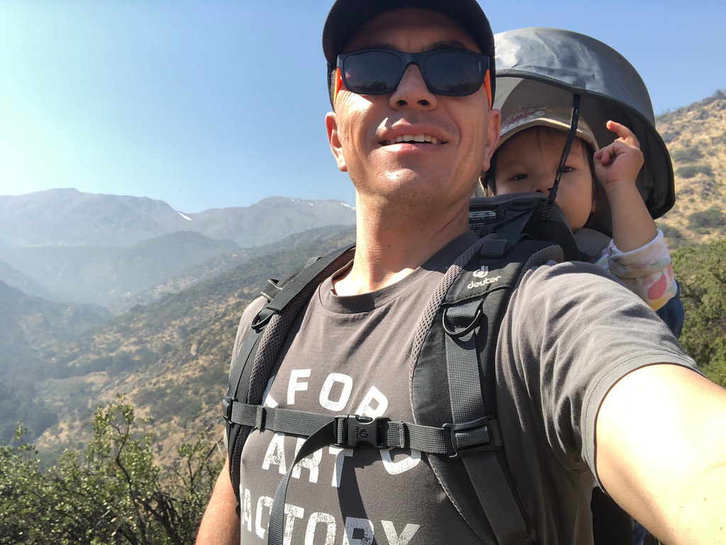 Backpacking in the foothills of the Andes