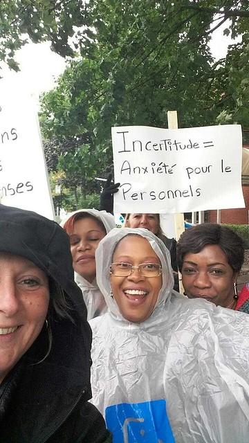 2018-09-24 - Manifestation au CHSLD Providence Notre-Dame de lourdes à Montréal