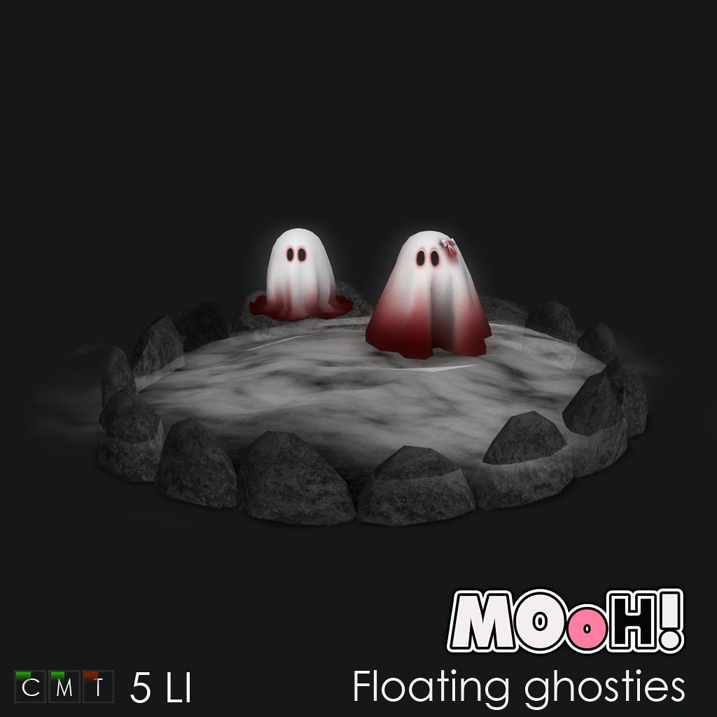 MOoH! Floating ghosties