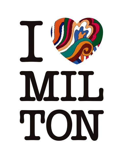 I Love Milton, Madrid Grafika, 2018.
