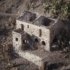 Ruin in Pentedattilo