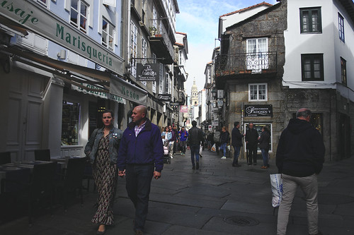 Around Santiago Cathedral #street #santiagodecompostela #galicia #spain #t3mujinpack
