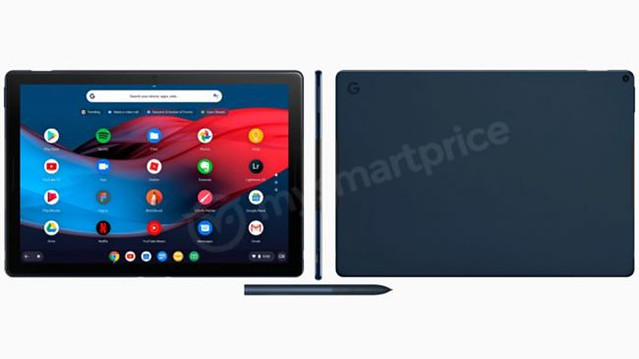 Bocoran render desain tablet Google terbaru.