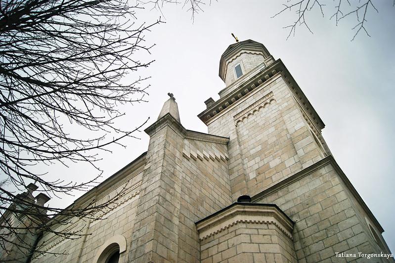 Фасад собора Св. Преображения