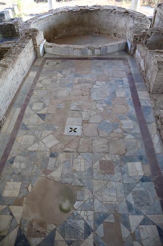 Villa romana di Palazzi di Casignana - calidarium