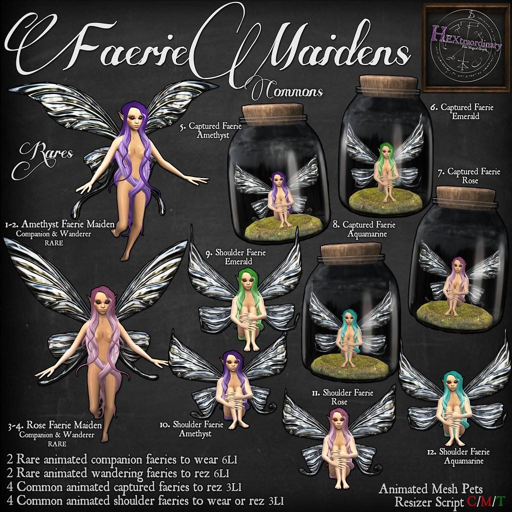 Faerie Maidens Gacha Key - TeleportHub.com Live!