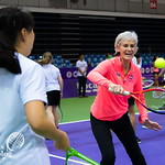 WTA Charities COME PLAY SC Global Teacher & Student clinic