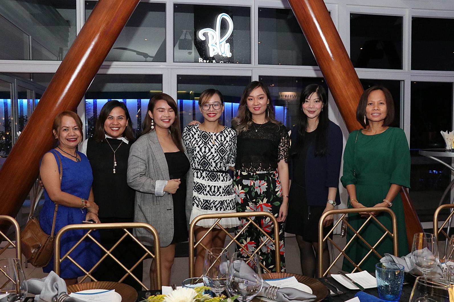Ehda Dagooc, Manna Alcaraz, Gia Mayola, Katrina Enrera, Jean Yu, Samanatha Poon and Marlen Limpag (2)