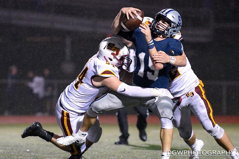 St. Joseph High vs. Staples high - High School Football