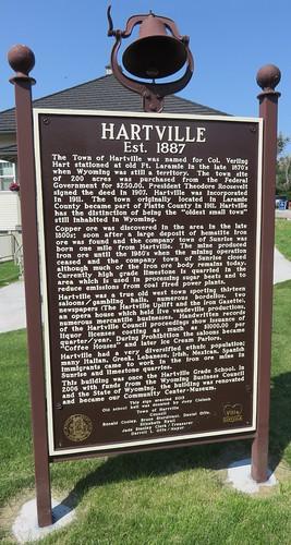Hartville Marker (Hartville, Wyoming)