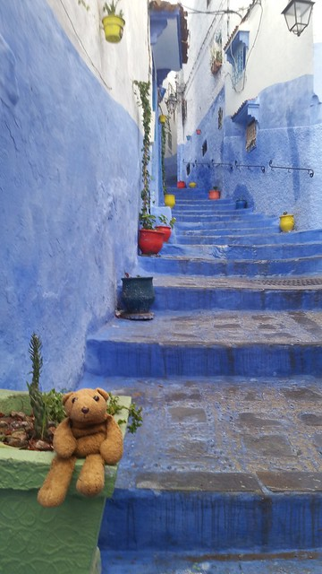 3 Blue Stairs