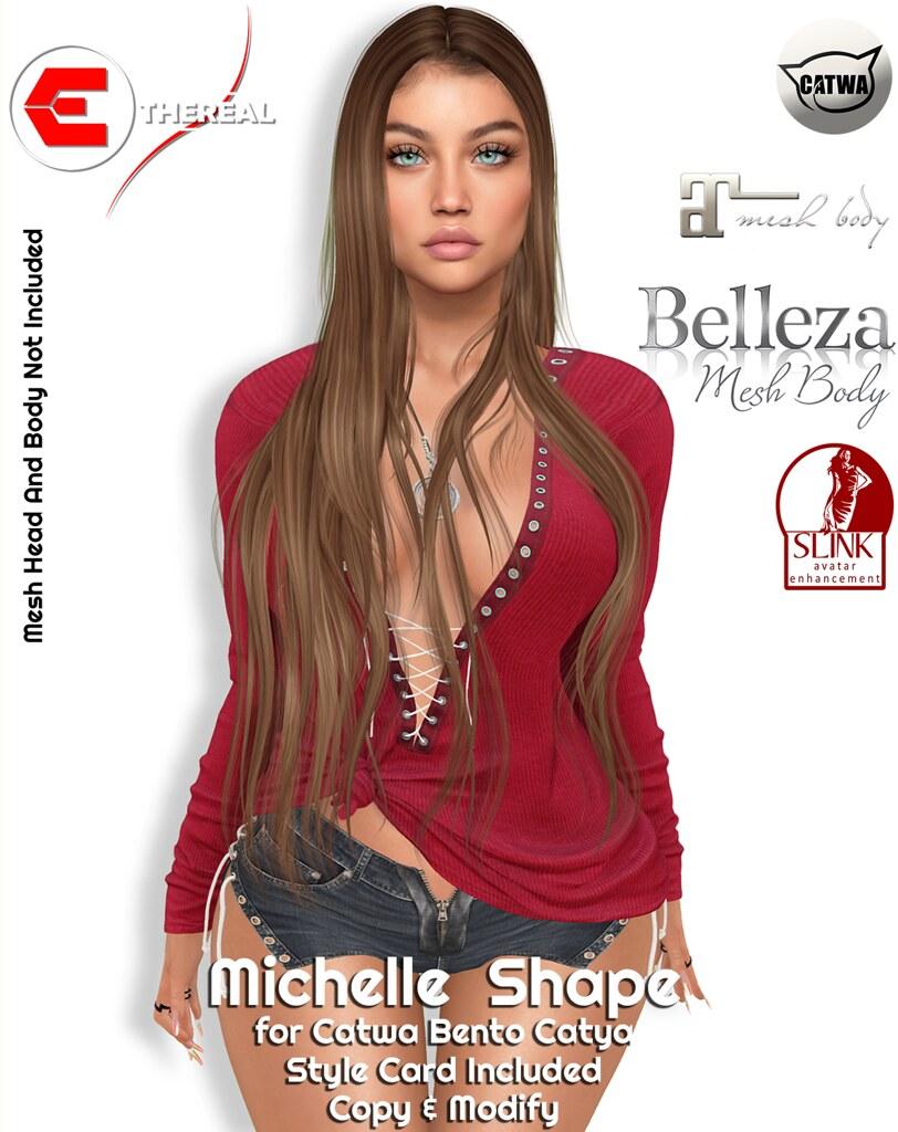Michelle Shape – Bento Catwa Catya