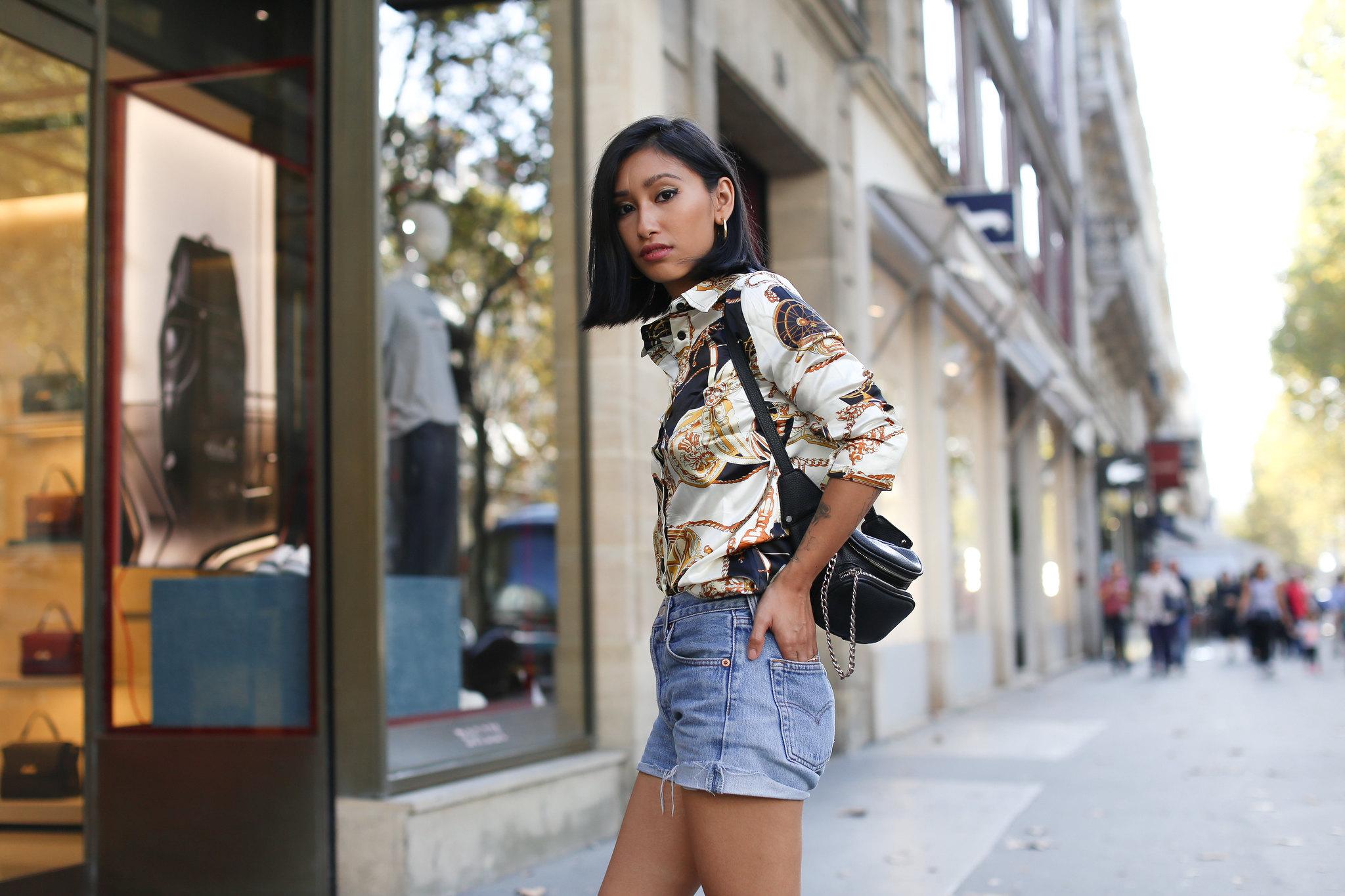 sélectionner pour authentique beaucoup de styles chaussure La chemise imprimée foulard - Blog Mode Paris, lifestyle ...