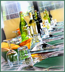 Wine in Chianti, Italy