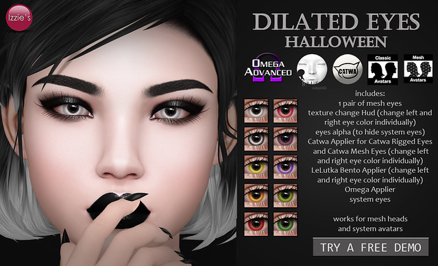 Dilated Eyes Halloween (for Uber)