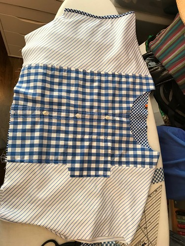 shirt-shirtdress construction