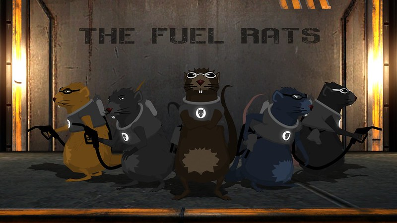 Robinjb's 3D Fuel Rat art