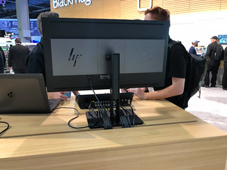 HP DreamColor Z31x Studio Display at BlackMagic booth | by peterl