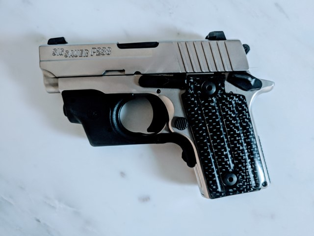 Carbon Fiber Grips for 238 & 938 - Topic