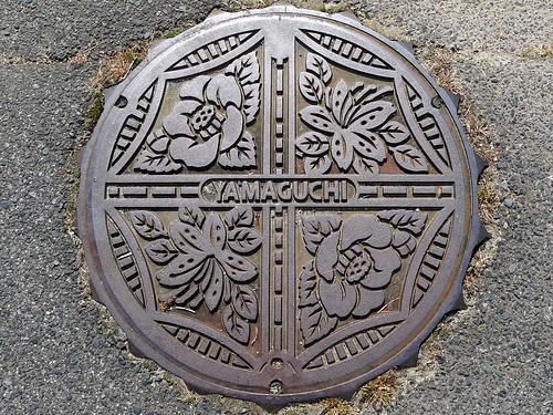Yamaguchi Nakatsugawa Gifu, manhole cover (岐阜県中津川市山口のマンホール)