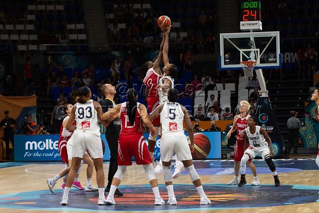 fotos Mundial Baloncesto Femenino 2018