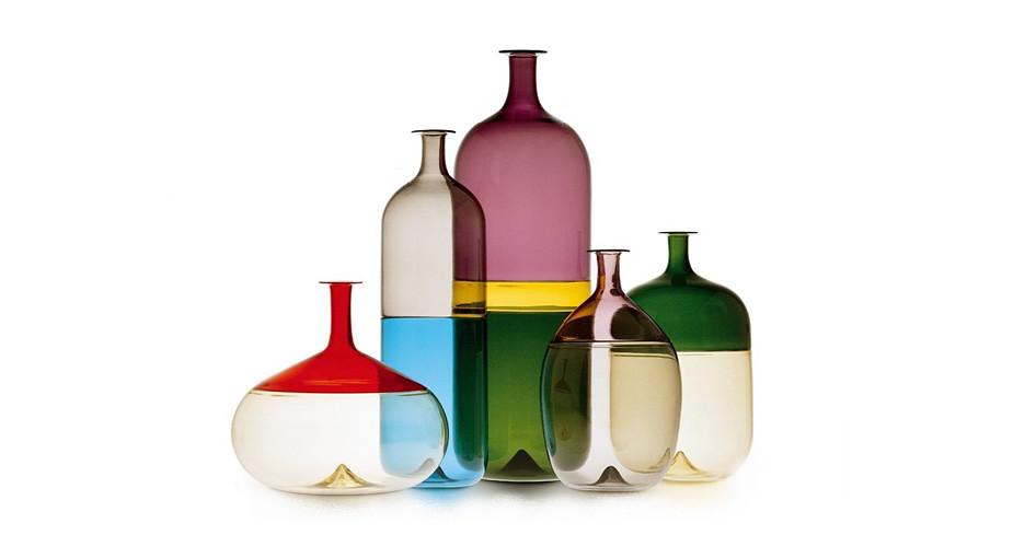 Tapio Wirkkala Bolle glassware.