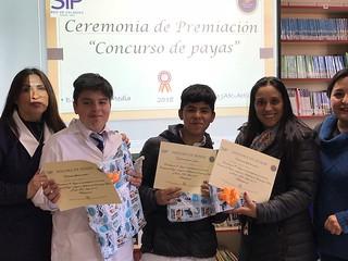 Premiación Concurso de payas