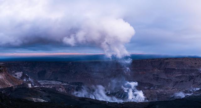 The New Halema'uma'u Crater