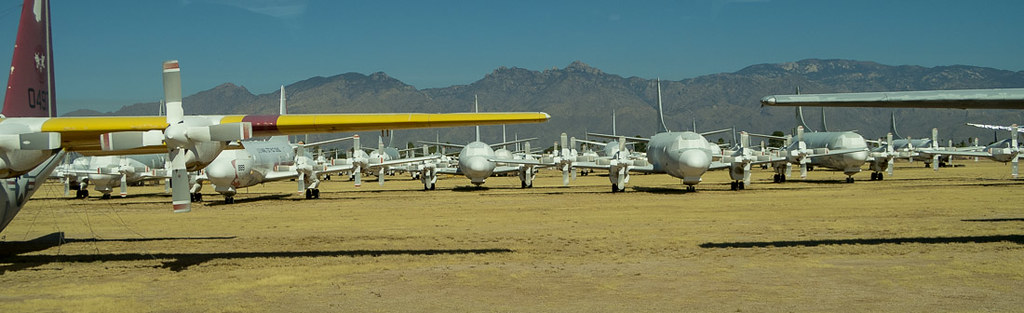 Tucson Airplane Boneyard Tour