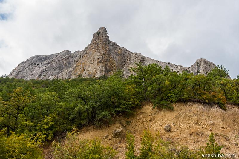 Гора Парсук-Кая, Крым