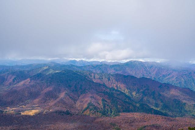 上越国境北側も雲が近づいた