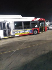 Damaged VIA Metro Novabus 561
