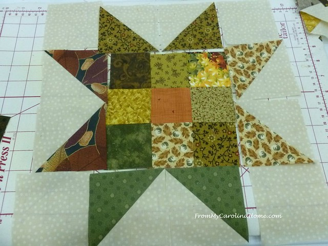 Autumn Jubilee Quilt Along at From My Carolina Home