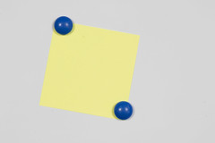 Sticky Note With Pin
