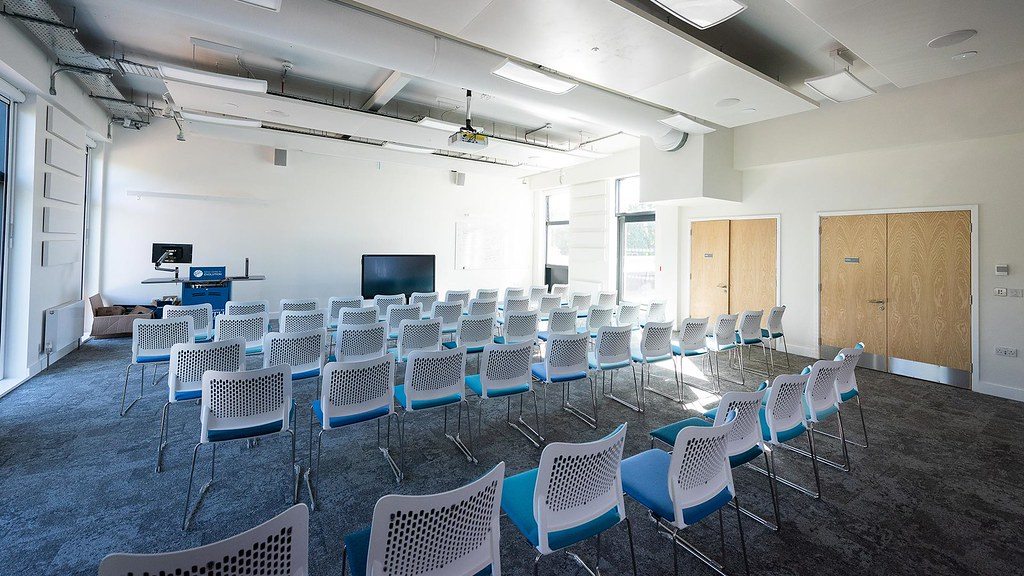 A conference room in the Milner centre