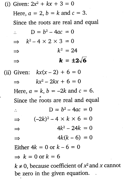 NCERT Solutions for Class 10 Maths Chapter 4 Quadratic Equations 44
