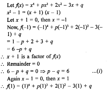 RD Sharma Class 9 Book Chapter 6 Factorisation of Polynomials