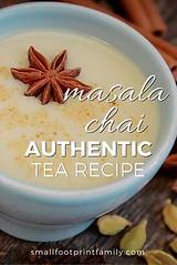 This authentic chai