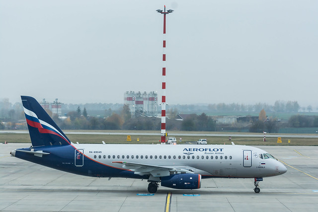 RA-89045 - Sukhoi Superjet 100-95B - Aeroflot