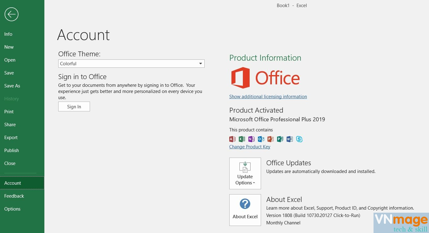 office 2019 active