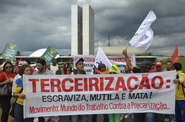 População tem se mobilizado contra retrocessos trabalhistas - Créditos: Wilson Dias/Agência Brasil