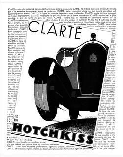 1931 Hotchkiss Ad (France)