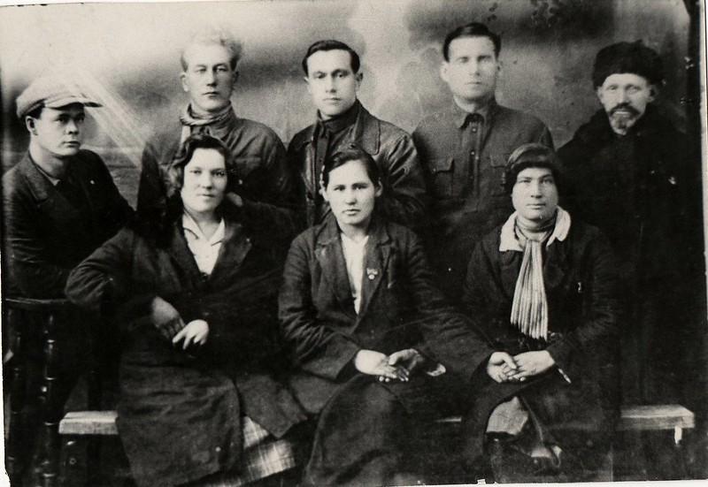 Делегаты Новодраченинского сельского совета на сессии.