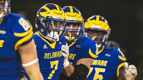 Delaware returns to the FCS Top 25 after big win against Elon
